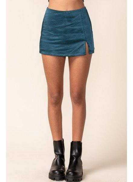 Unforgettable Satin Mini Skirt