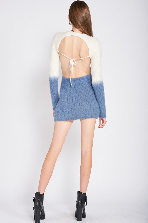 Haze Ombre Sweater Dress
