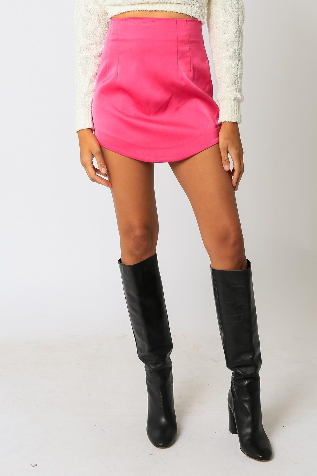 Hotter Than Hot Mini Skirt