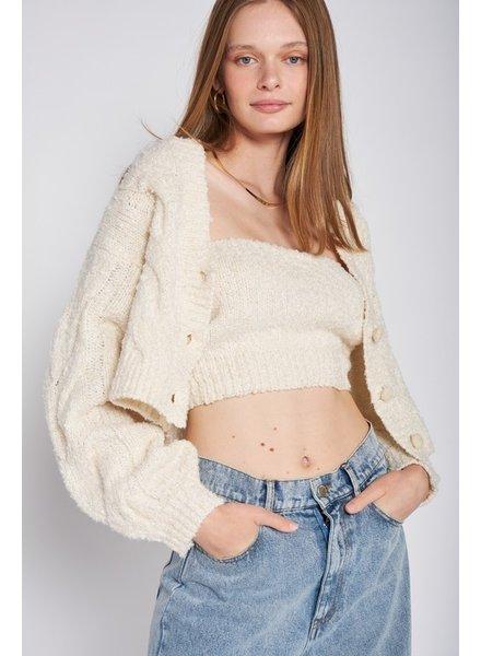 Keep Cozy Knit Cardigan
