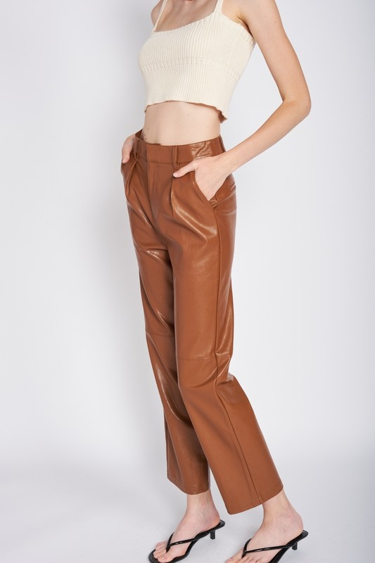 Faux In Love Cropped Pants