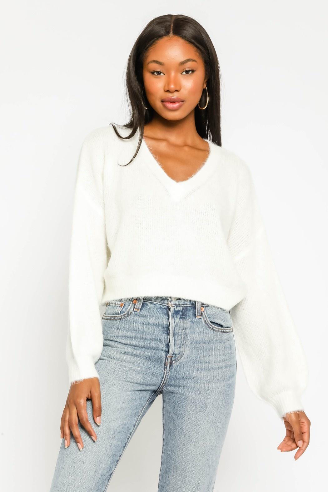 Fiona Fuzzy Sweater
