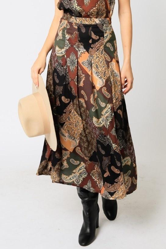 Florentine Midi Skirt