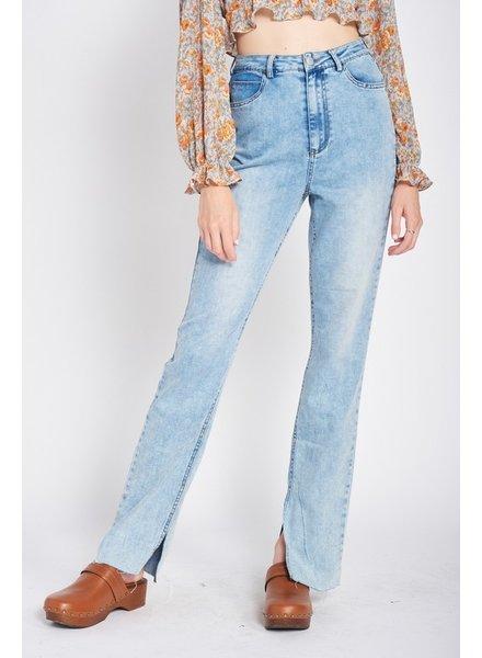 Kick It Split Leg Jeans