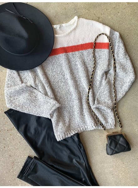 Kennedy Color Block Sweater