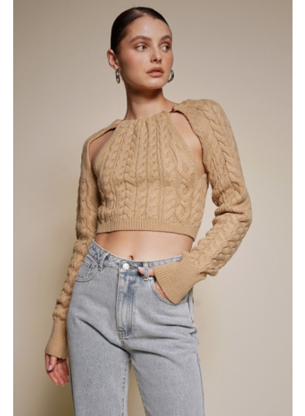 Mara Cable Knit Sweater