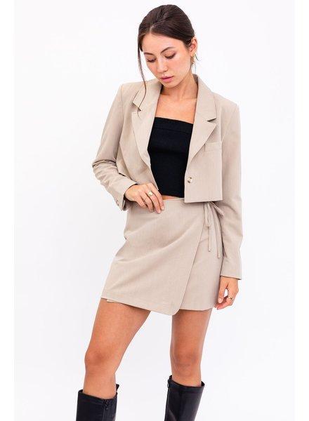 Top Notch Wrap Skirt