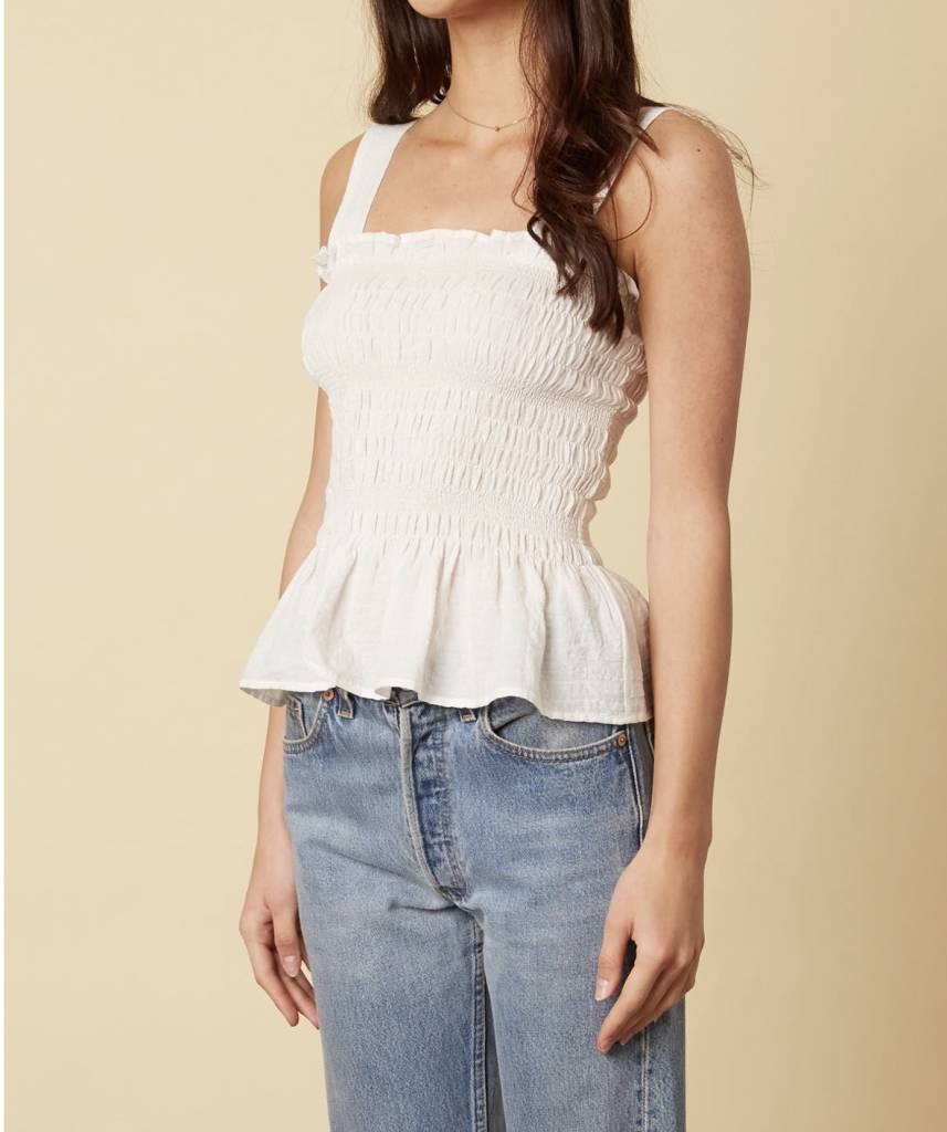 Abby Smocked Top