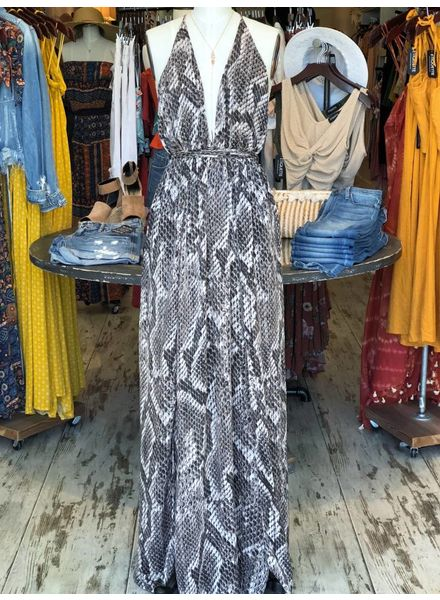 Snakebite Maxi Dress