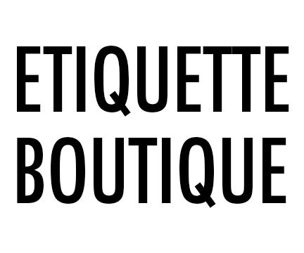 Etiquette Boutique