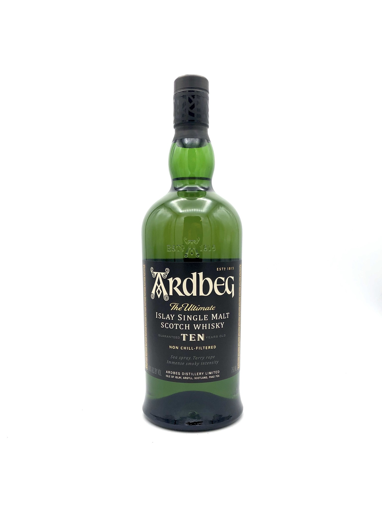 Single Malt Islay Scotch 10 Year Ardbeg