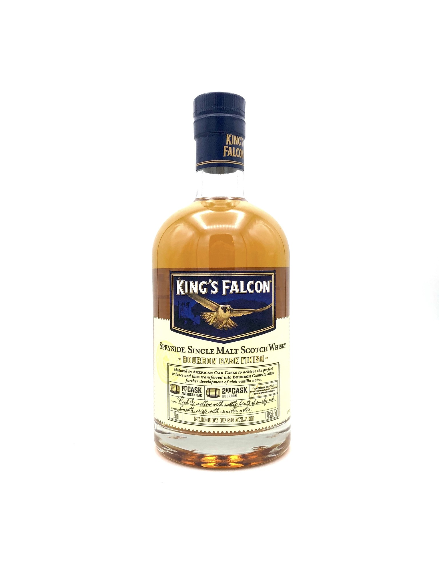 Speyside Single-Malt Scotch King's Falcon