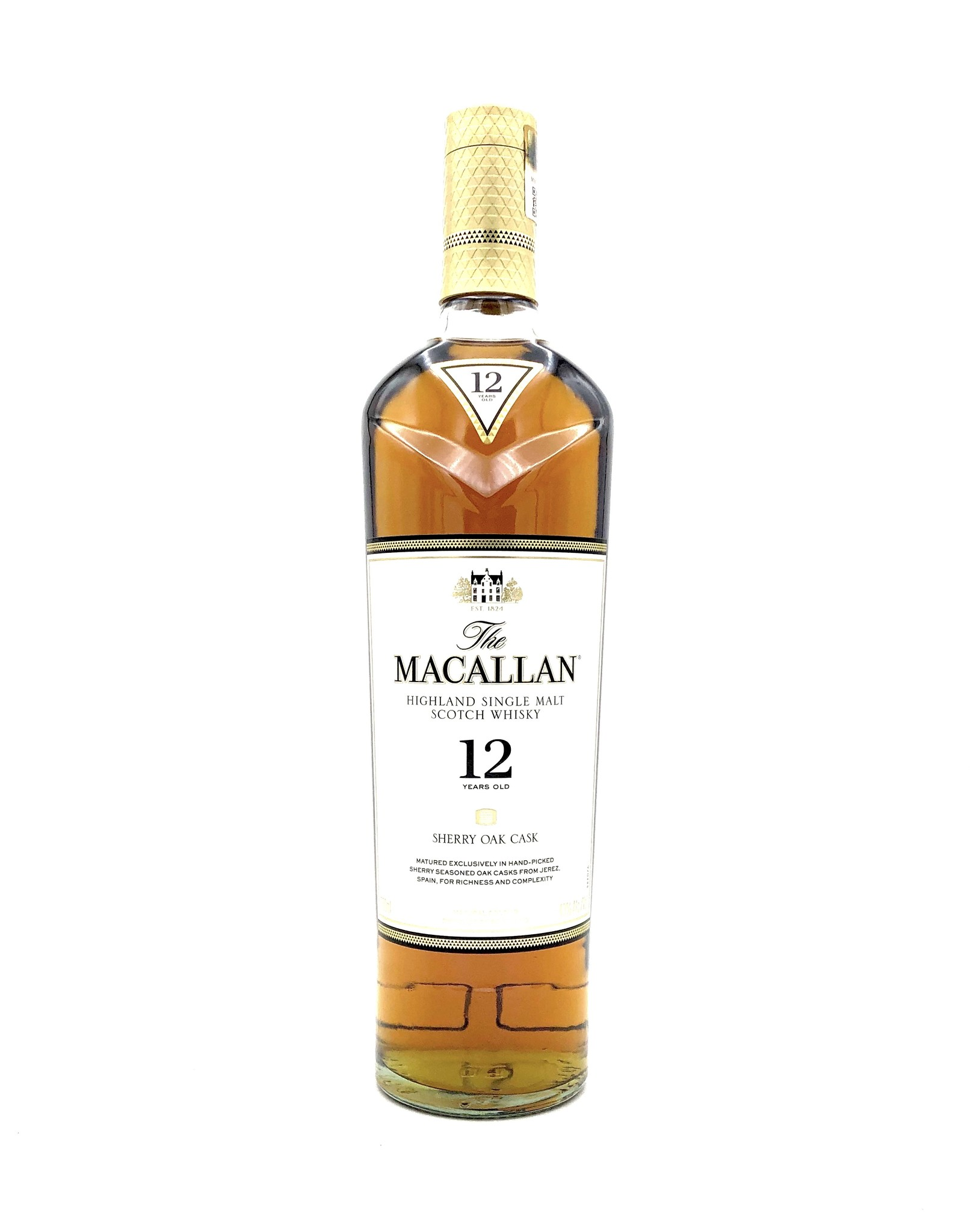 Macallan 12 Year Scotch