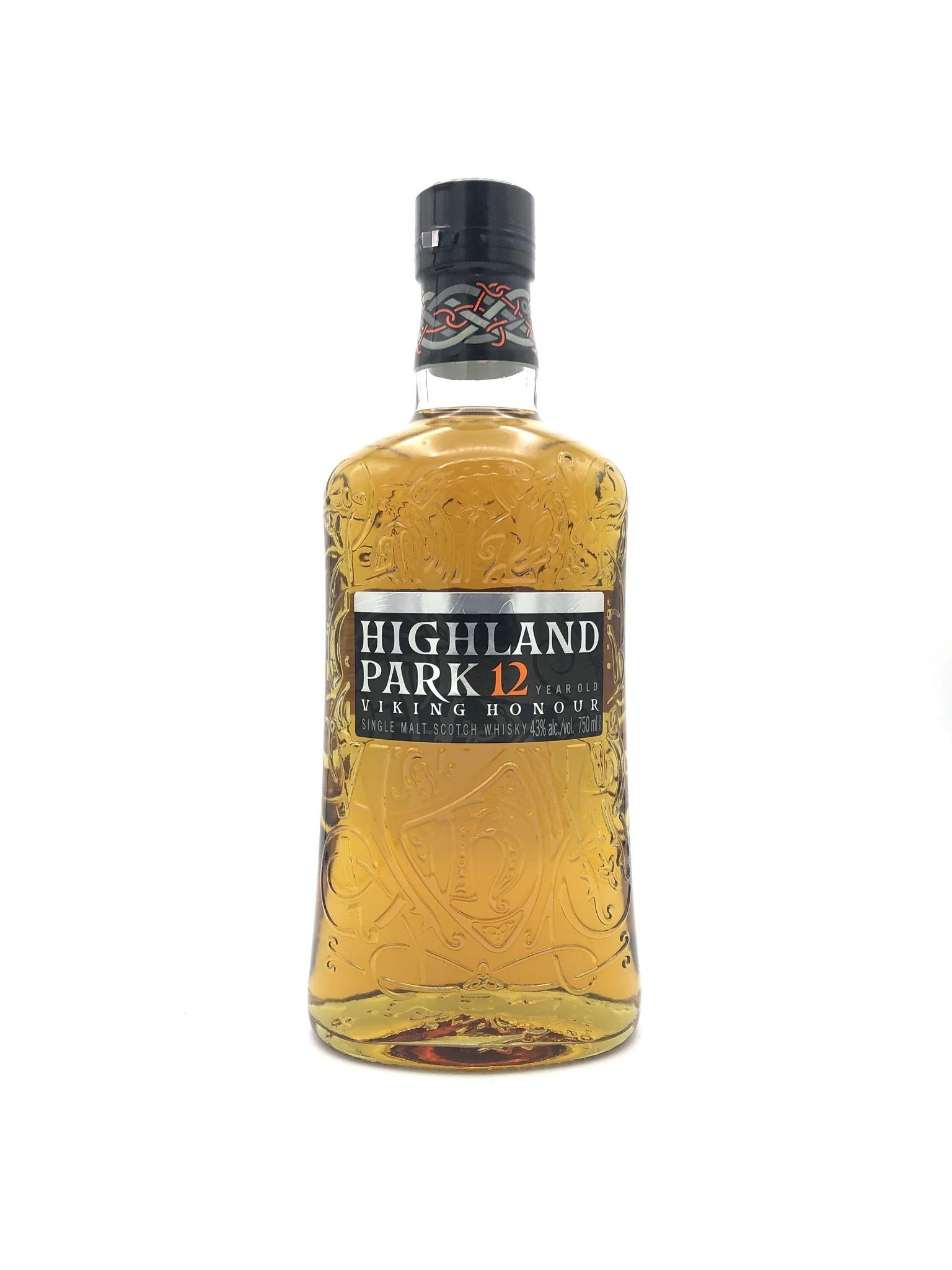 Highland Park 12 Year Scotch