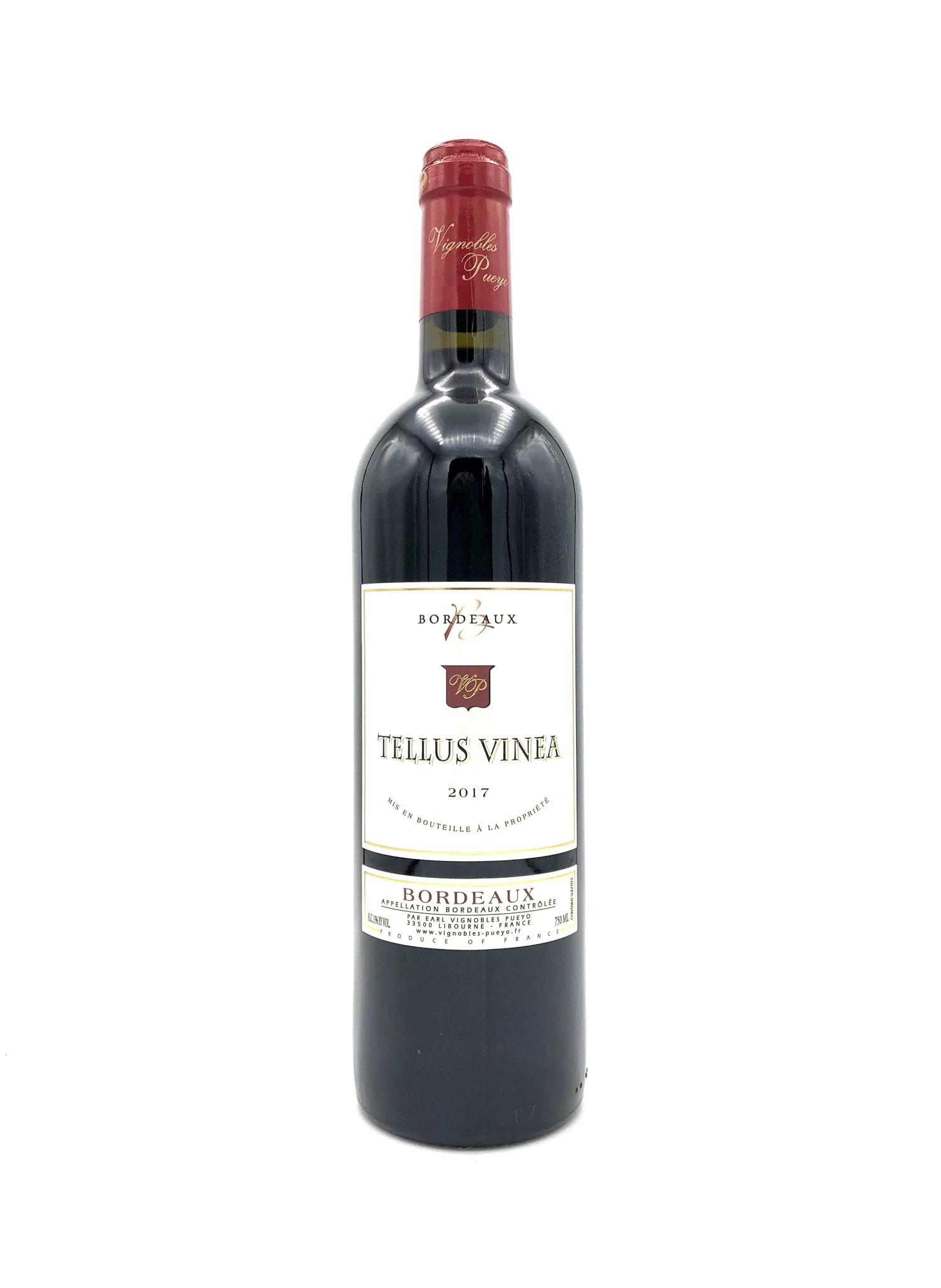 """Bordeaux Rouge """"Tellus Vinea"""" 2017 Figeac"""