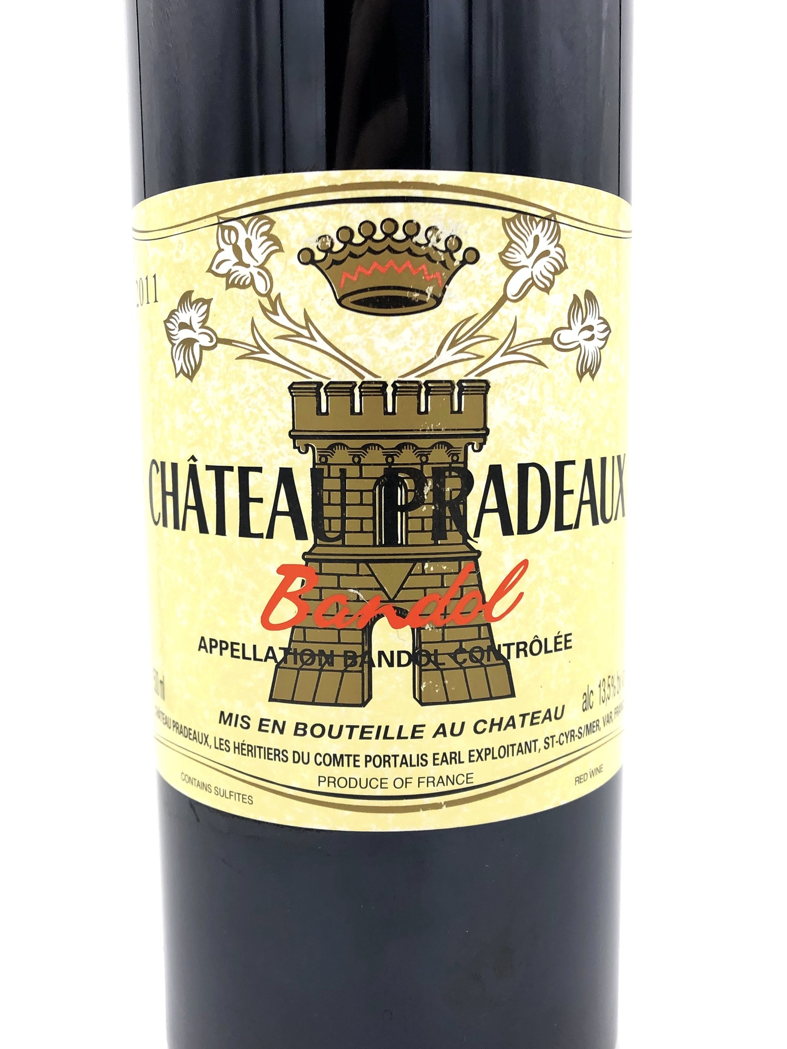 Bandol Rouge 1.5L 2011 Châteaux Pradeaux