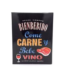 "Tinto ""Carne"" 3L Bienbebido"