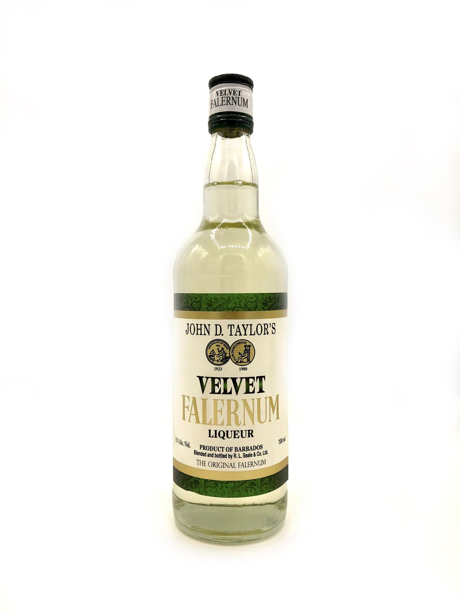 Velvet Falernum John D. Taylor's