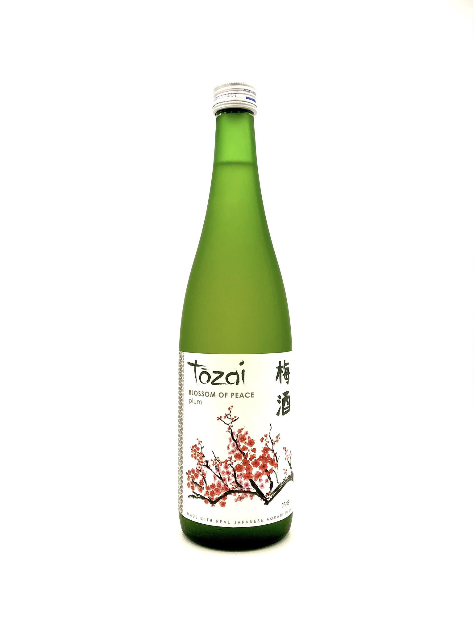 """Plum Sake """"Blossom of Peace"""" NV Tozai"""