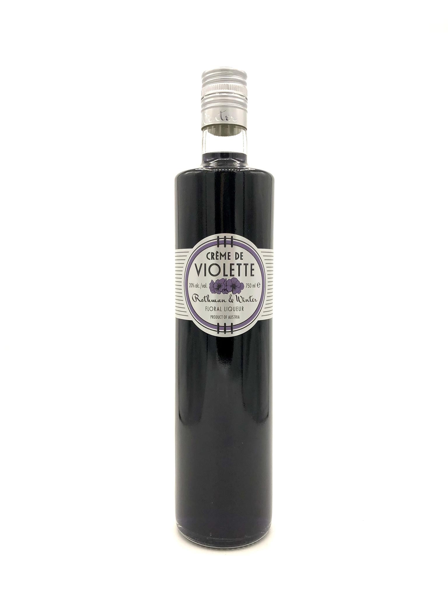 Crème de Violette 750ml Rothman and Winter