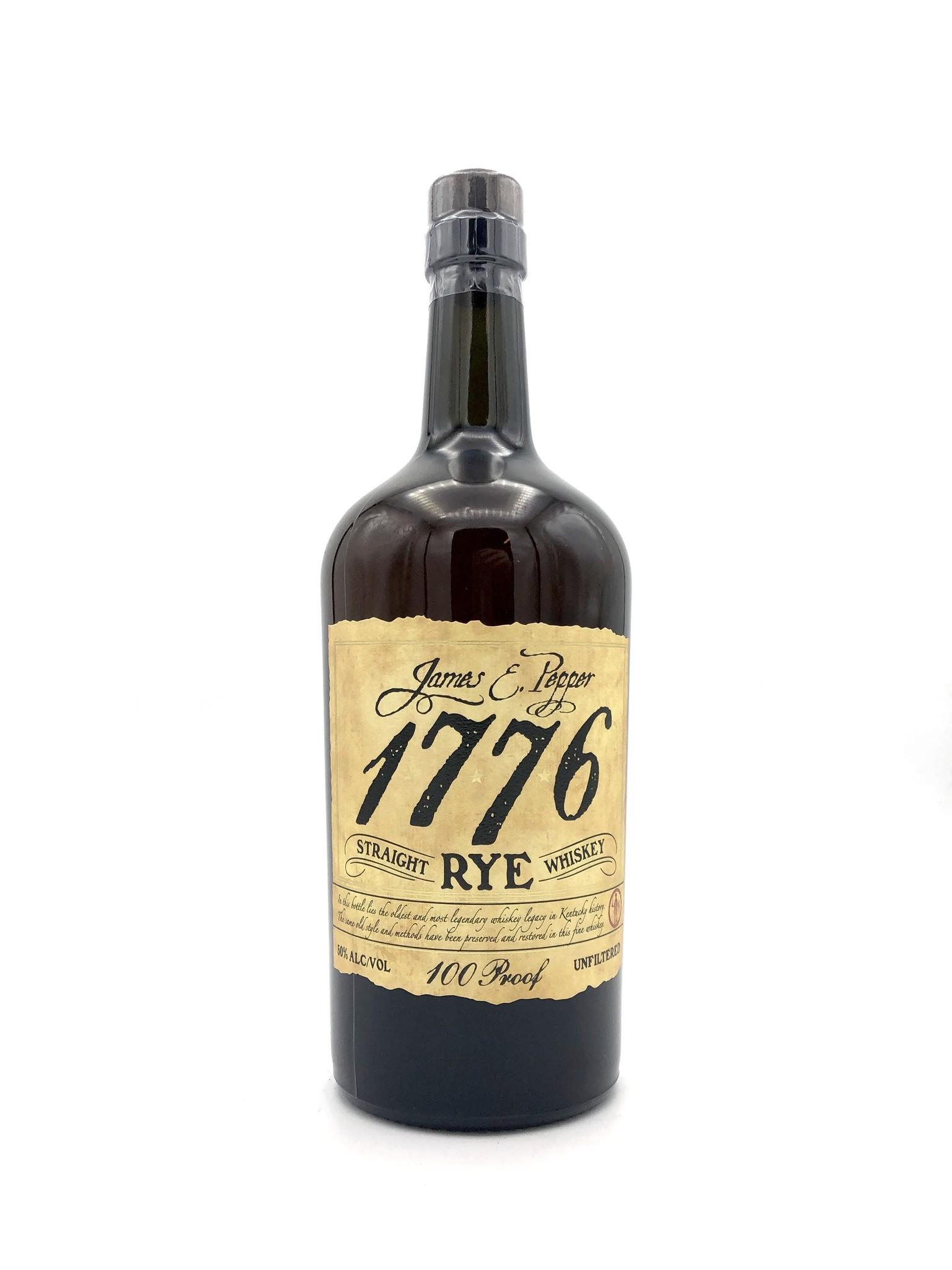 "Rye ""1776"" James Pepper"
