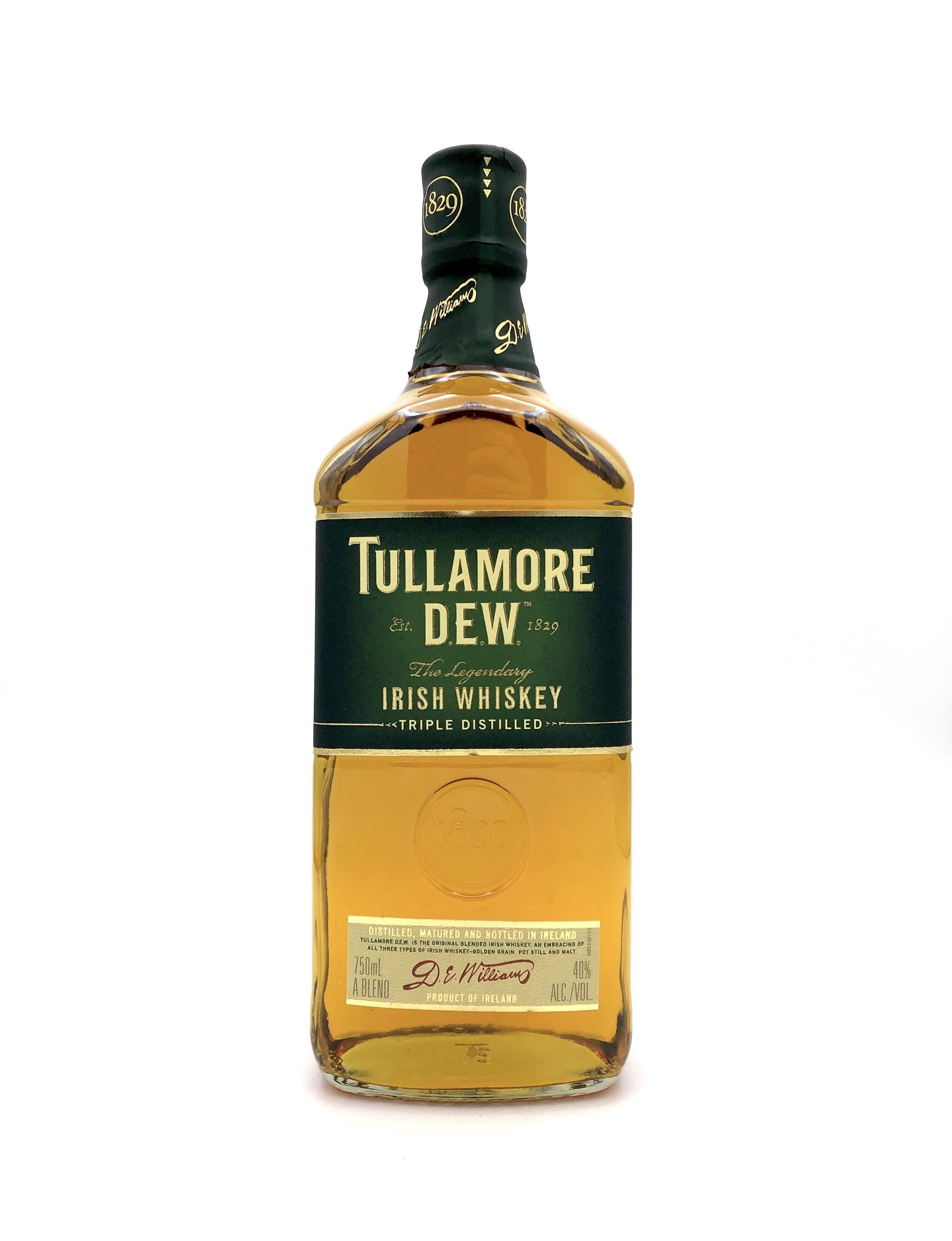 Irish Whiskey 750ml Tullamore Dew