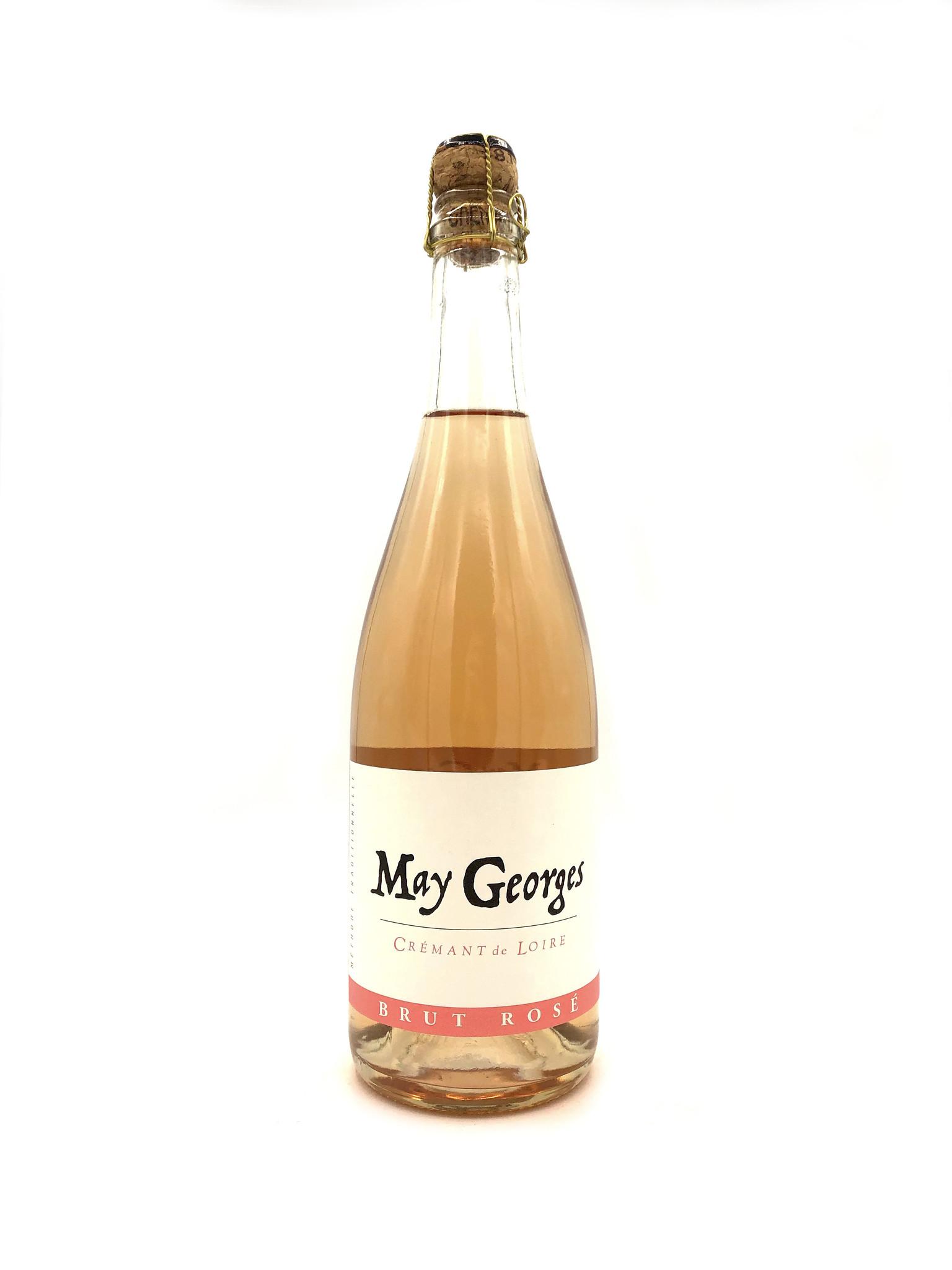 Cremant de Loire Brut Rosé NV May Georges