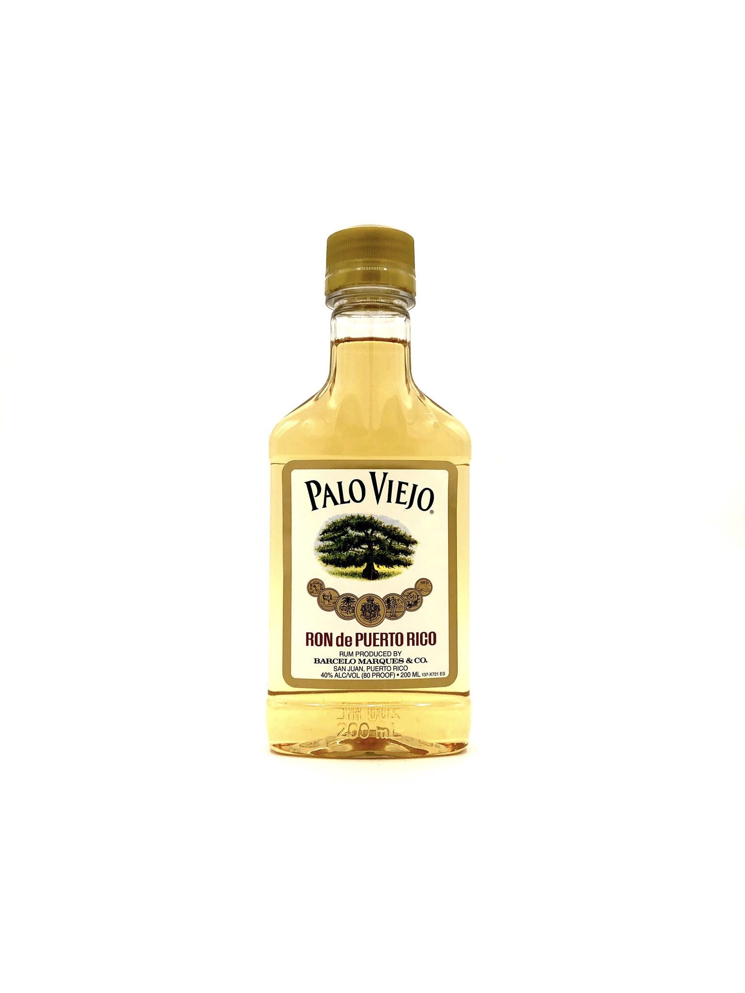Gold Rum 200mL Palo Viejo