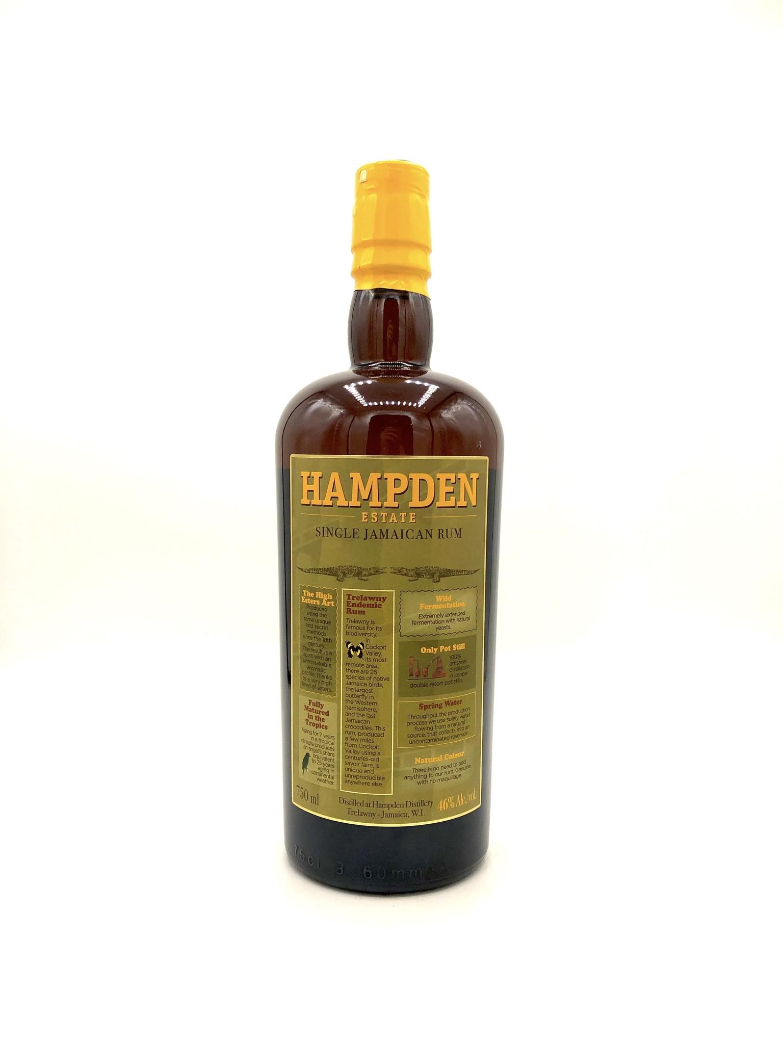 Pure Single Jamaican Rum, Hampden Estate