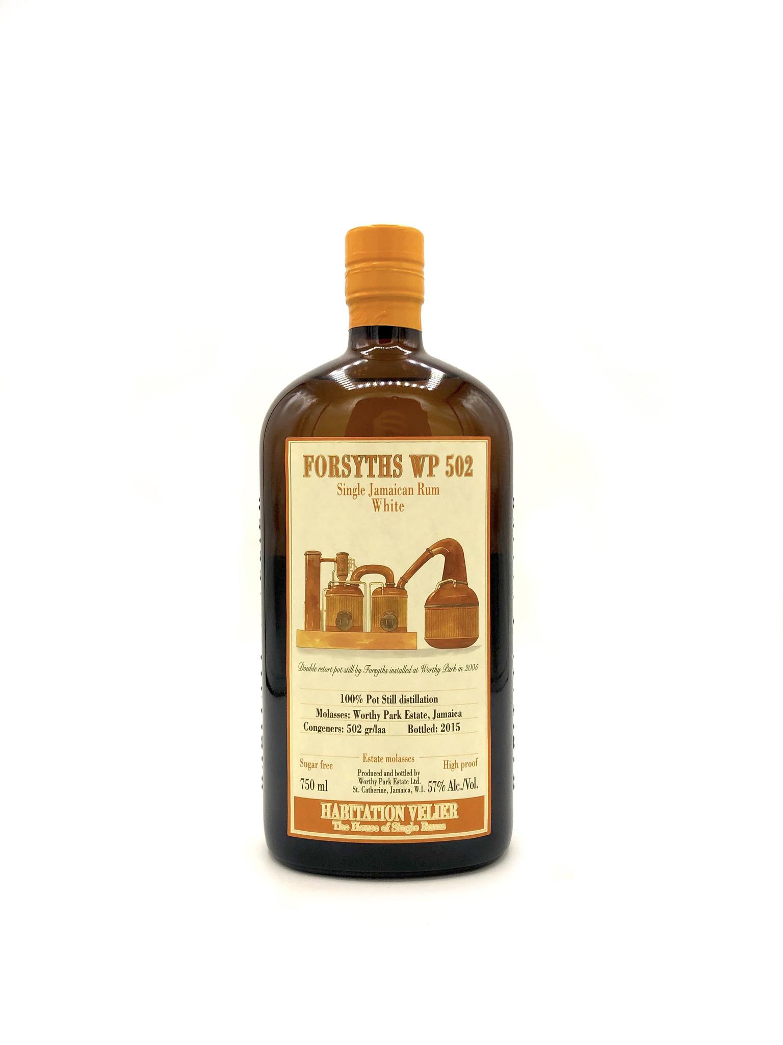 """White Jamaica Rum """"Forsyths"""", Habitation Velier"""