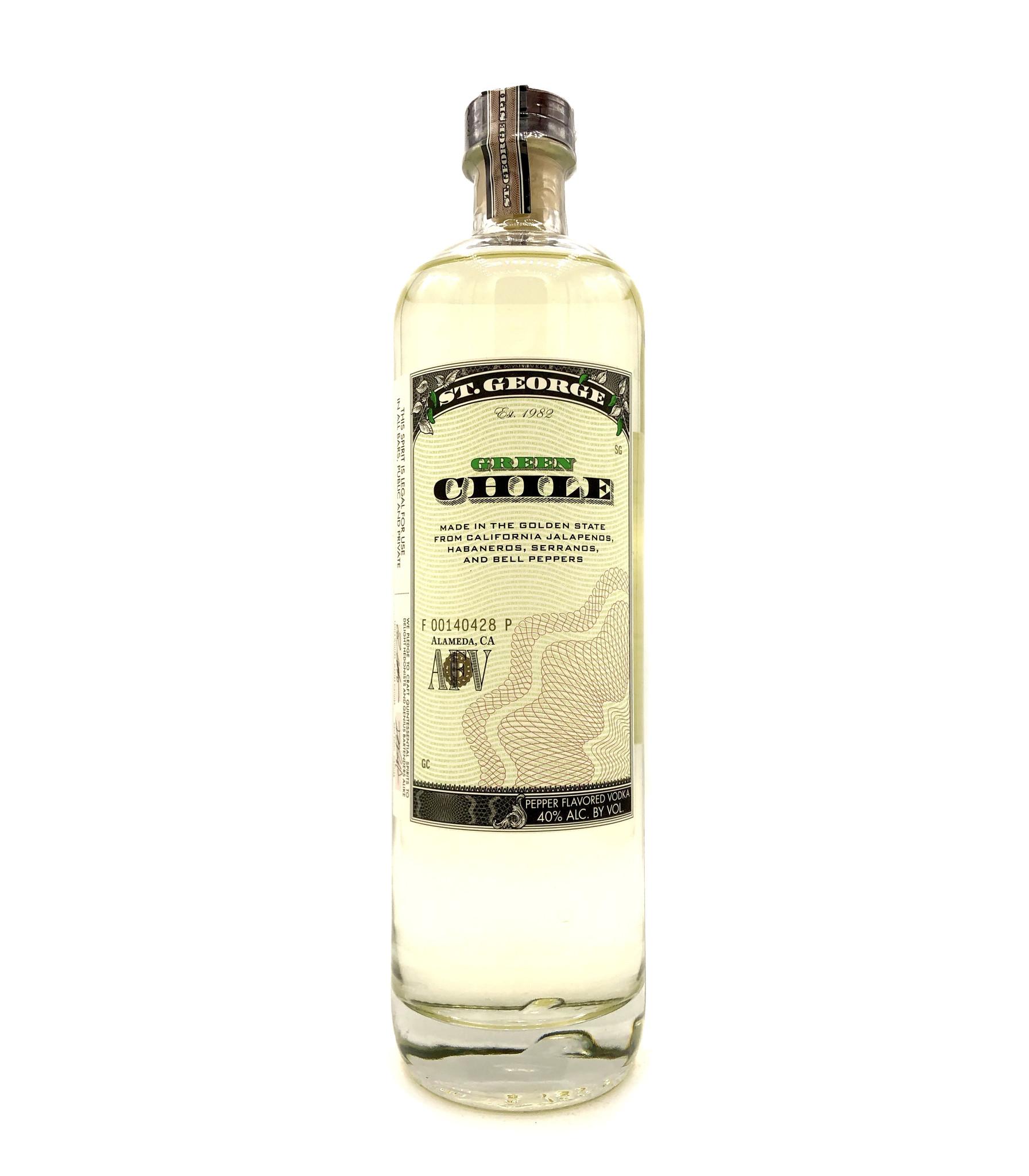 Green Chile Vodka St. George
