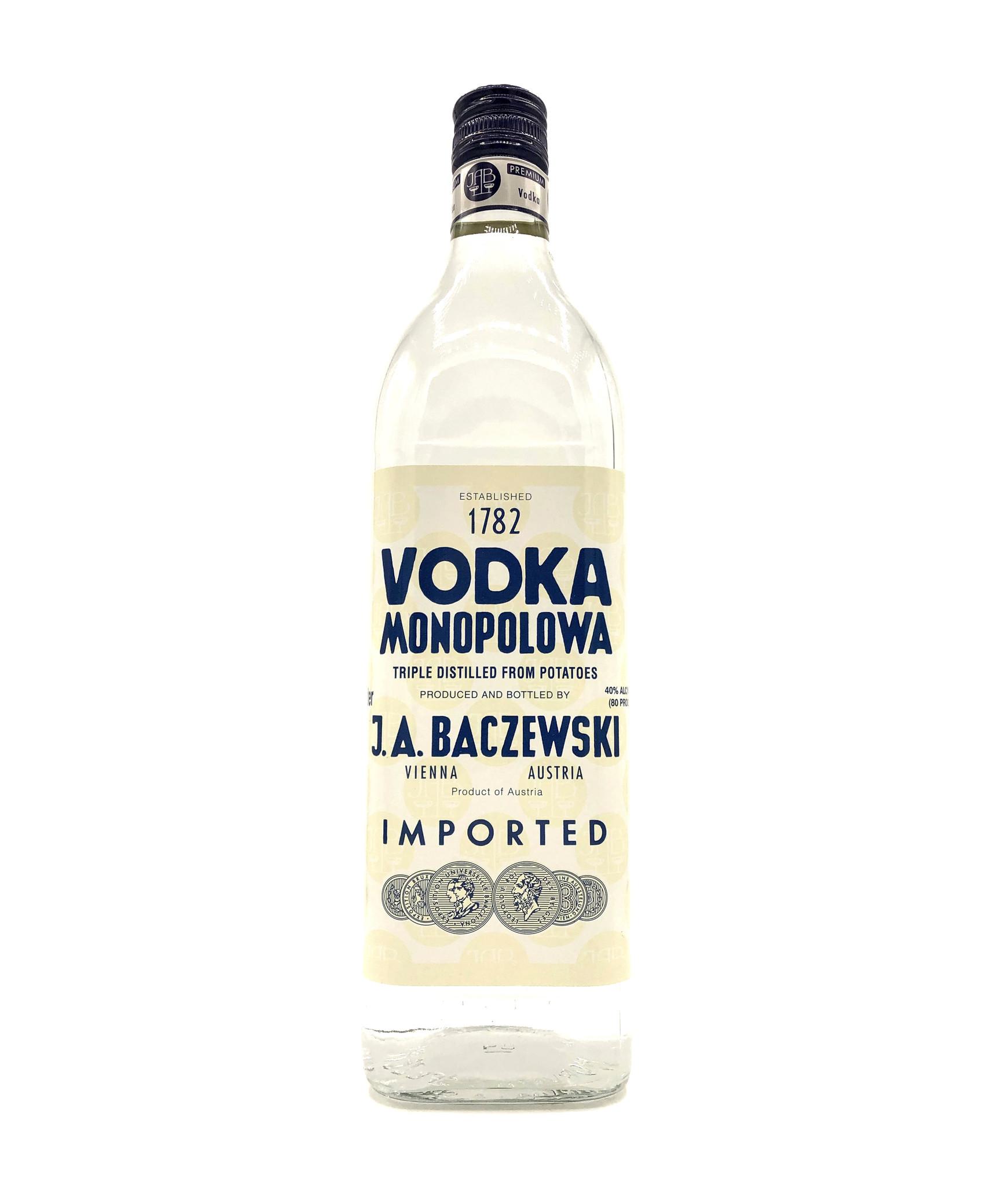 Vodka Monopolowa 1L Baczewski