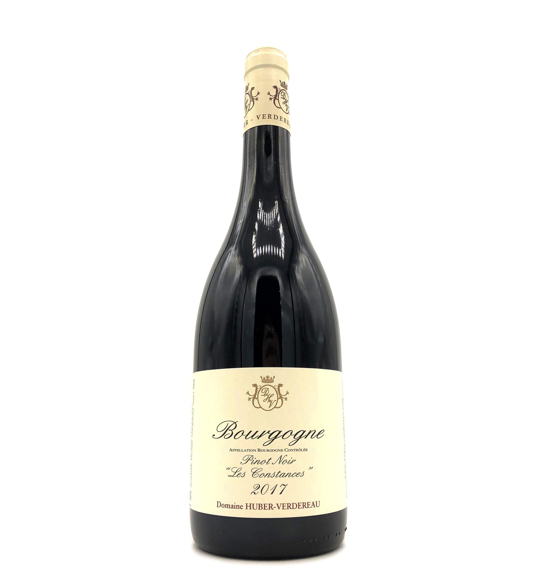 """Bourgogne Rouge """"Les Constances"""" 2017 Huber-Verdereau"""