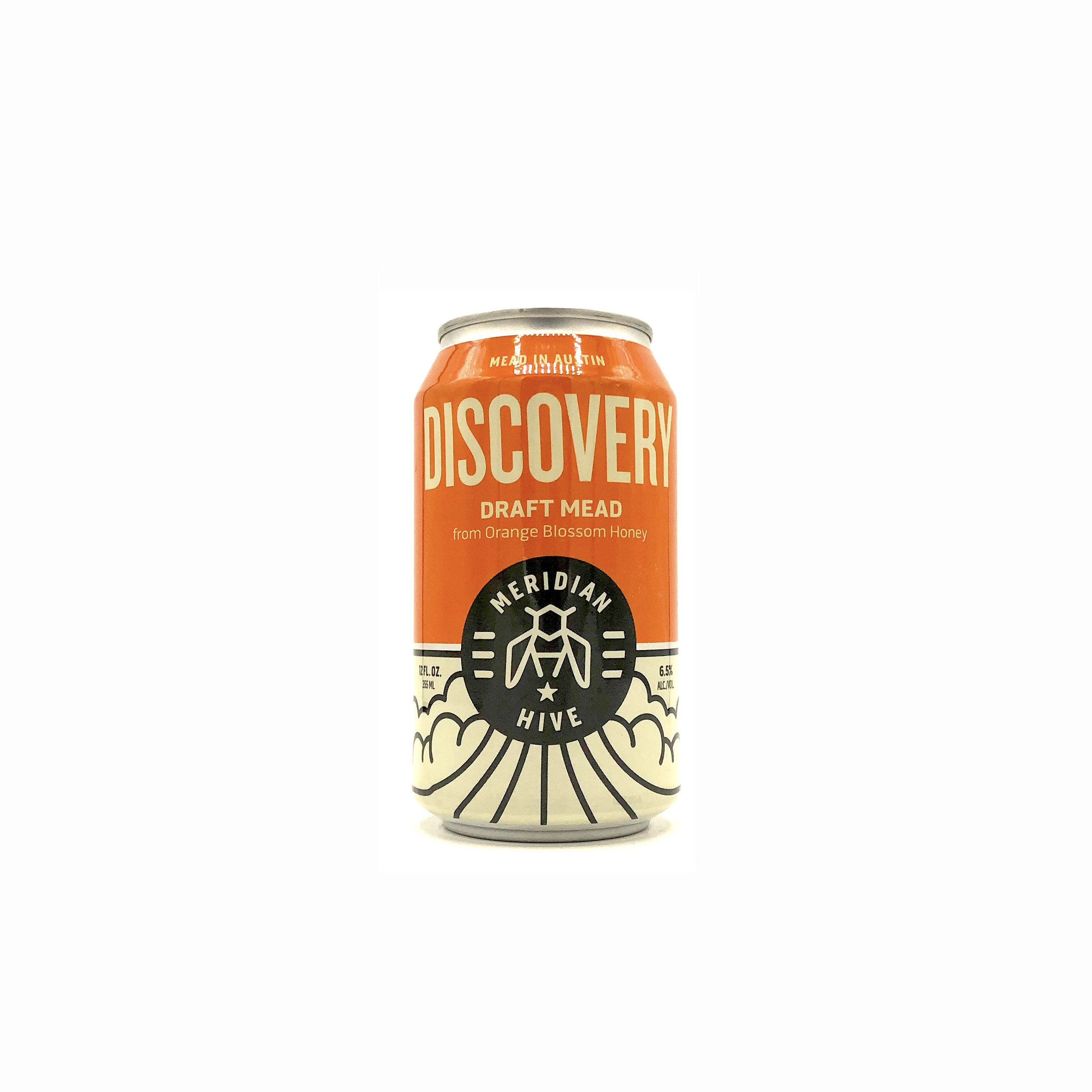 Orange Blossom Honey Mead (can) 12oz Discovery