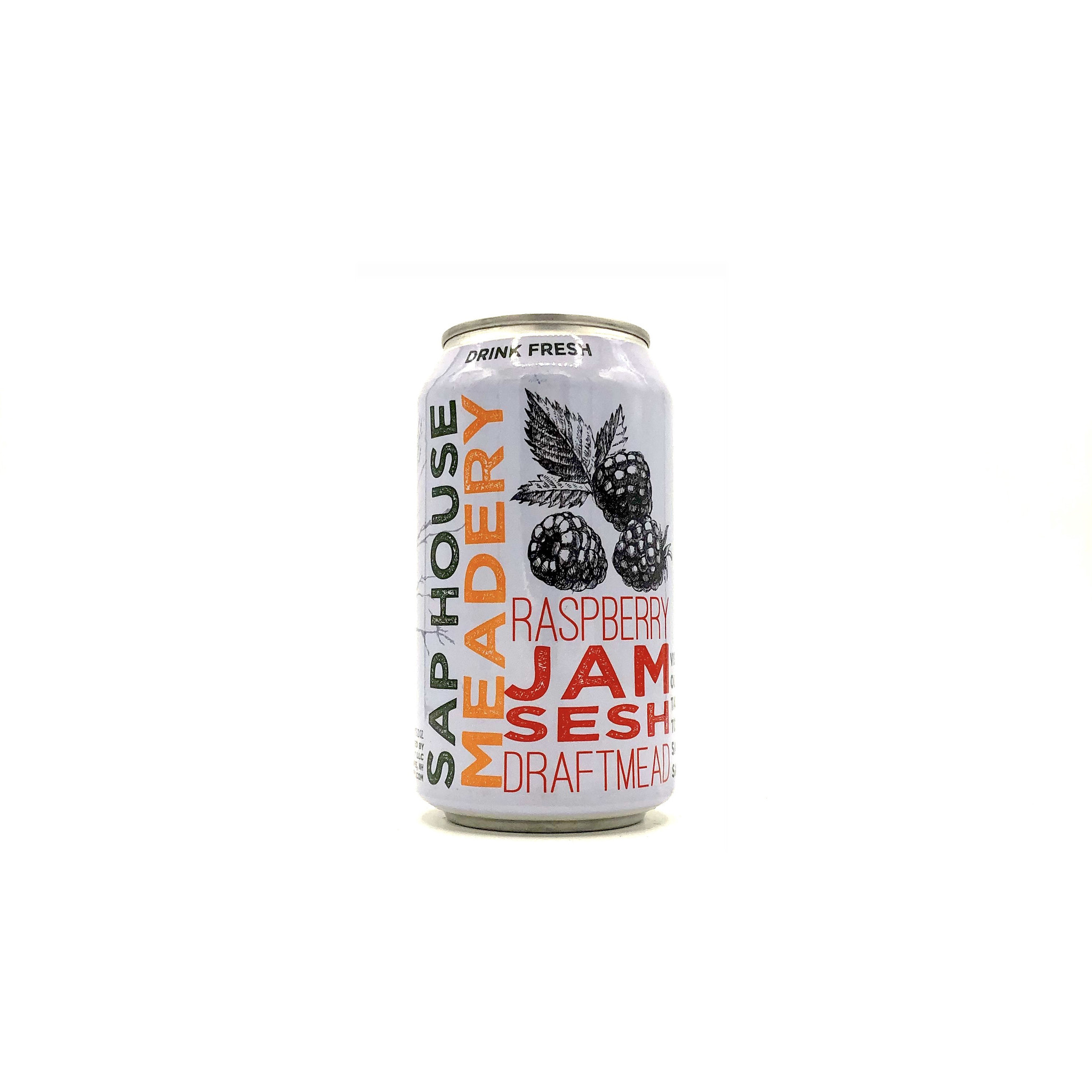 "Mead ""Raspberry Jam Sesh"" (can) 12oz Sap House"