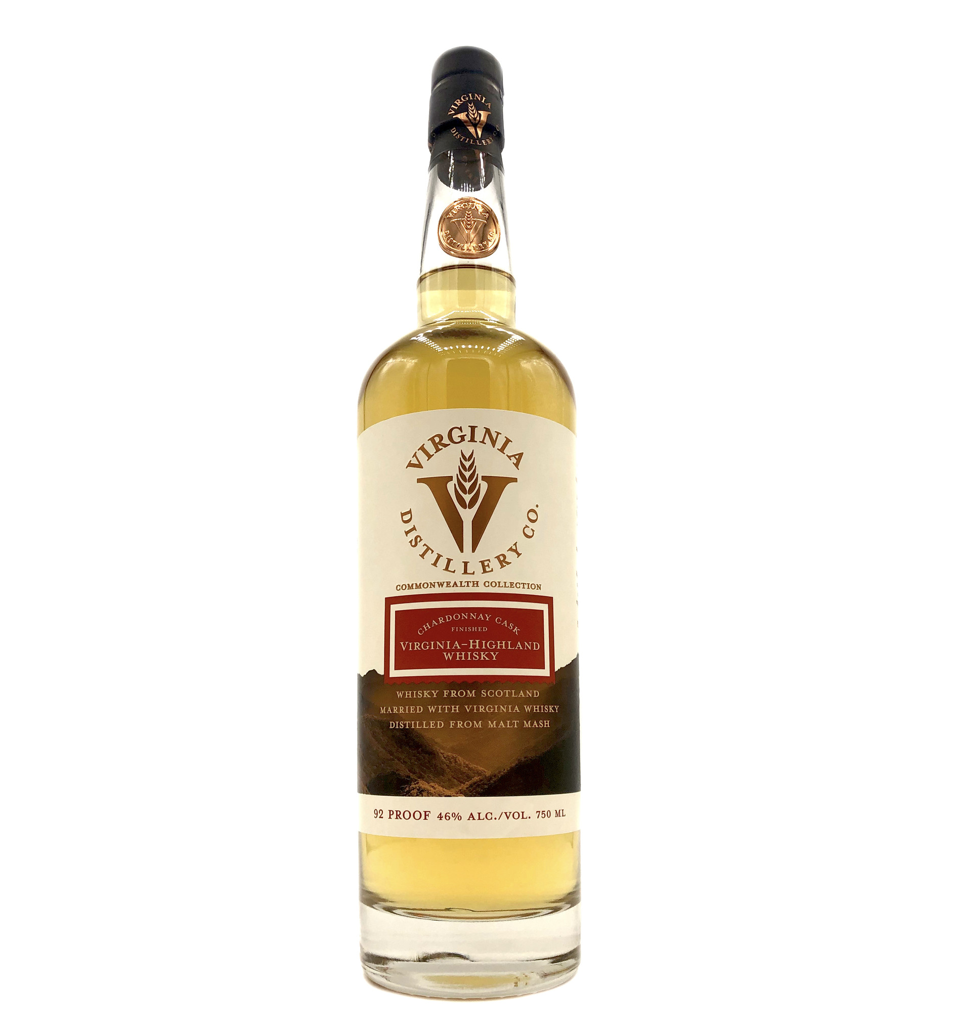 Chardonnay Cask Whiskey VA Distillery