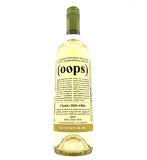 Sauvignon Blanc 2018 Oops Wines