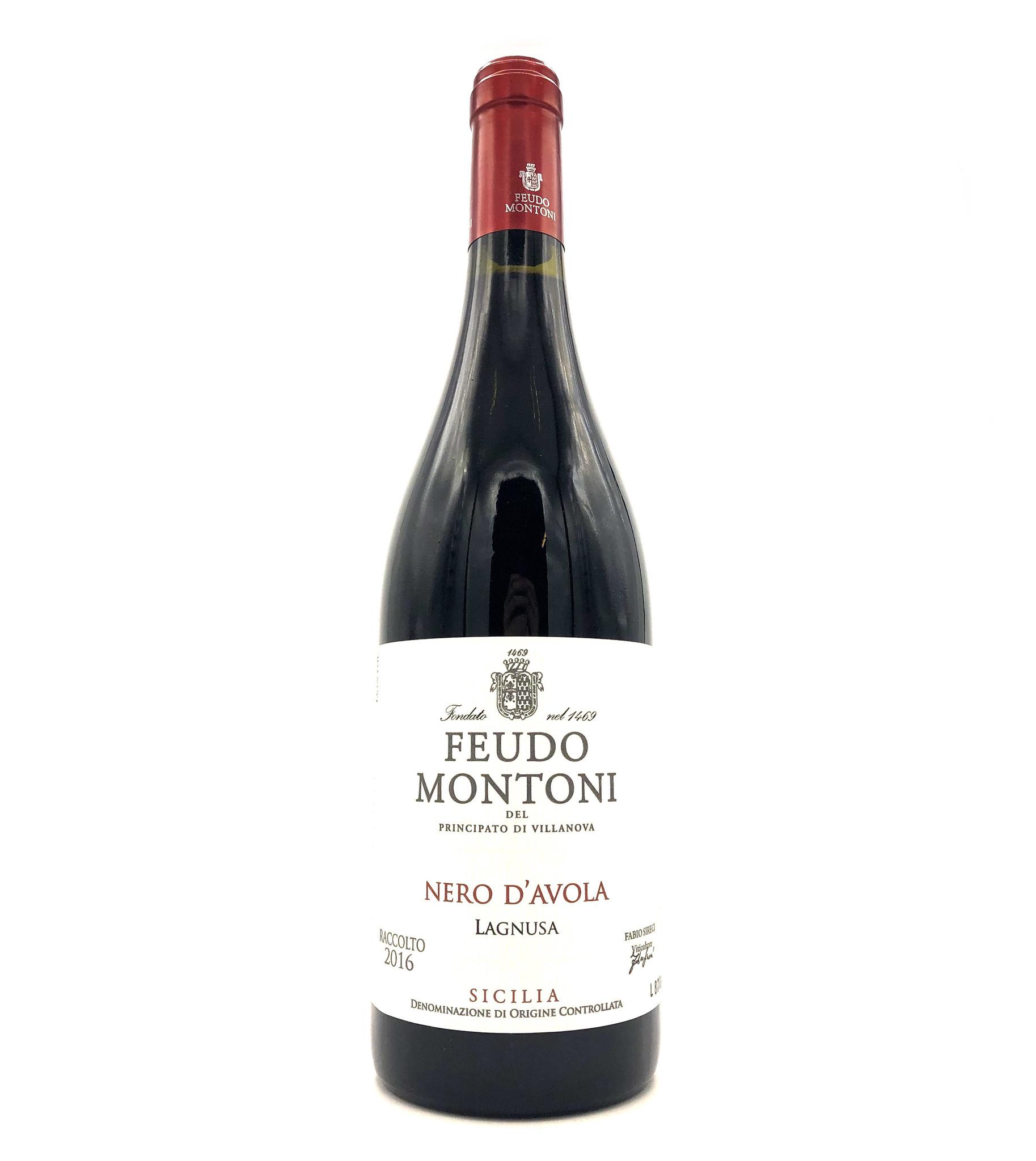 Nero d'Avola 2016  Feudo Montoni