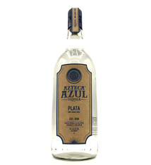 Plata Tequila 1L Azteca Azul