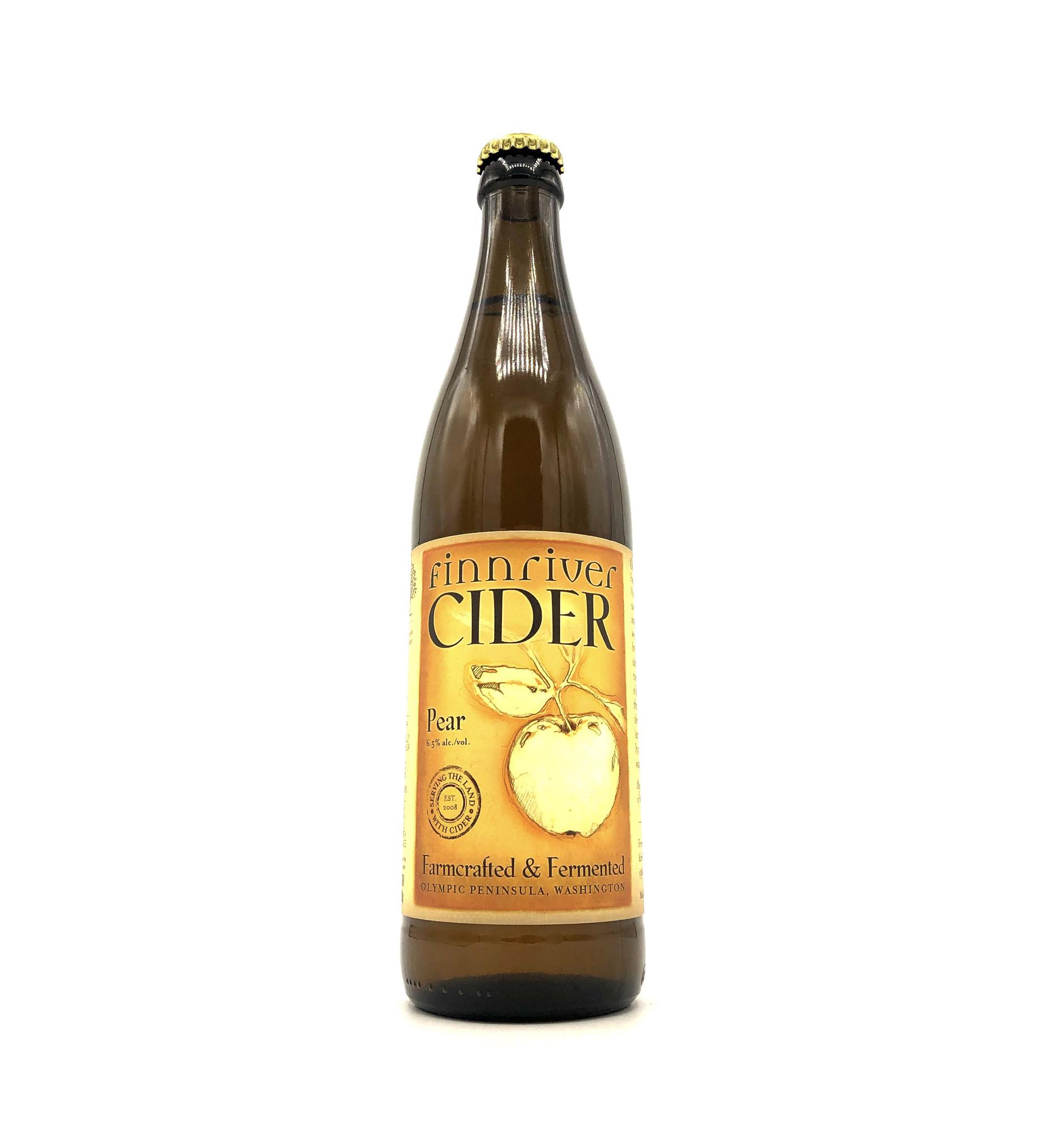 Sparkling Pear Cider 500ml Finnriver Cidery