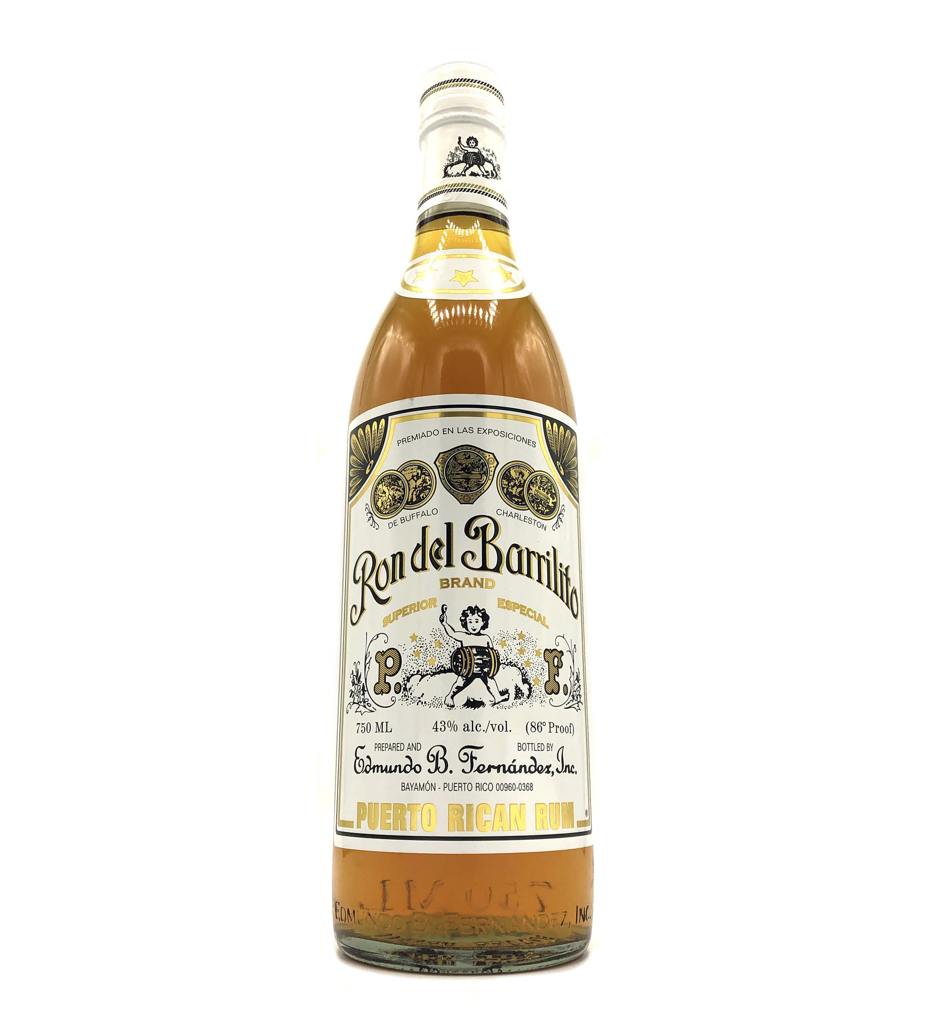 Rum 3-Star 750ml Ron del Barrilito
