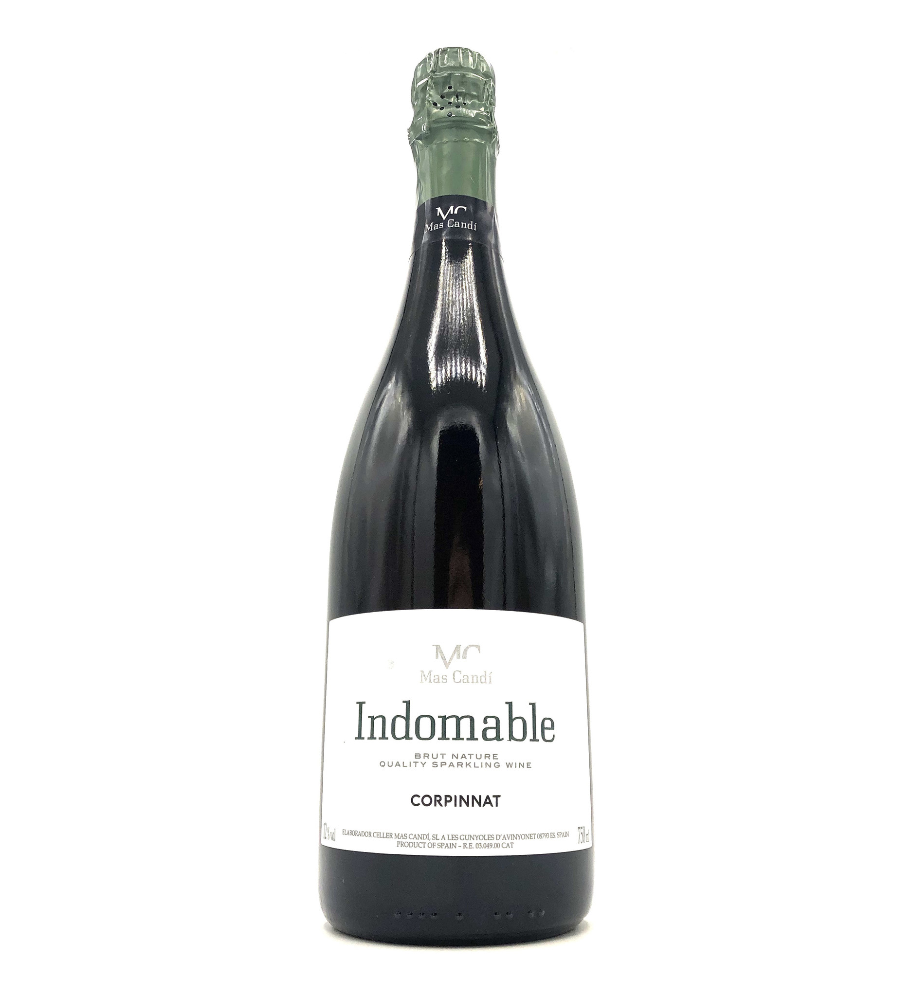 Cava Brut Nature Indomable 2013 Mas Candi