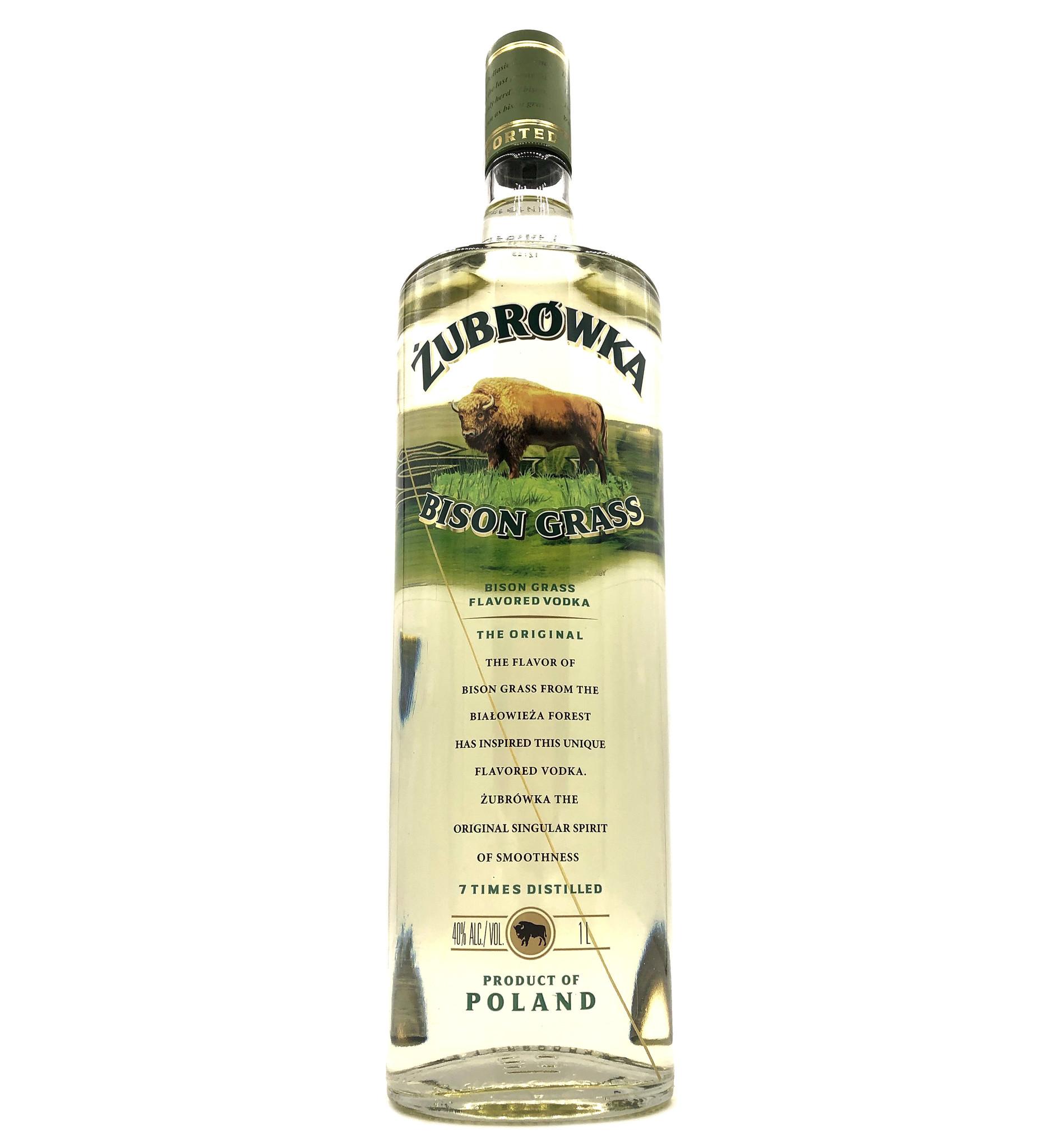Bison Grass Vodka 1L Zubrowka