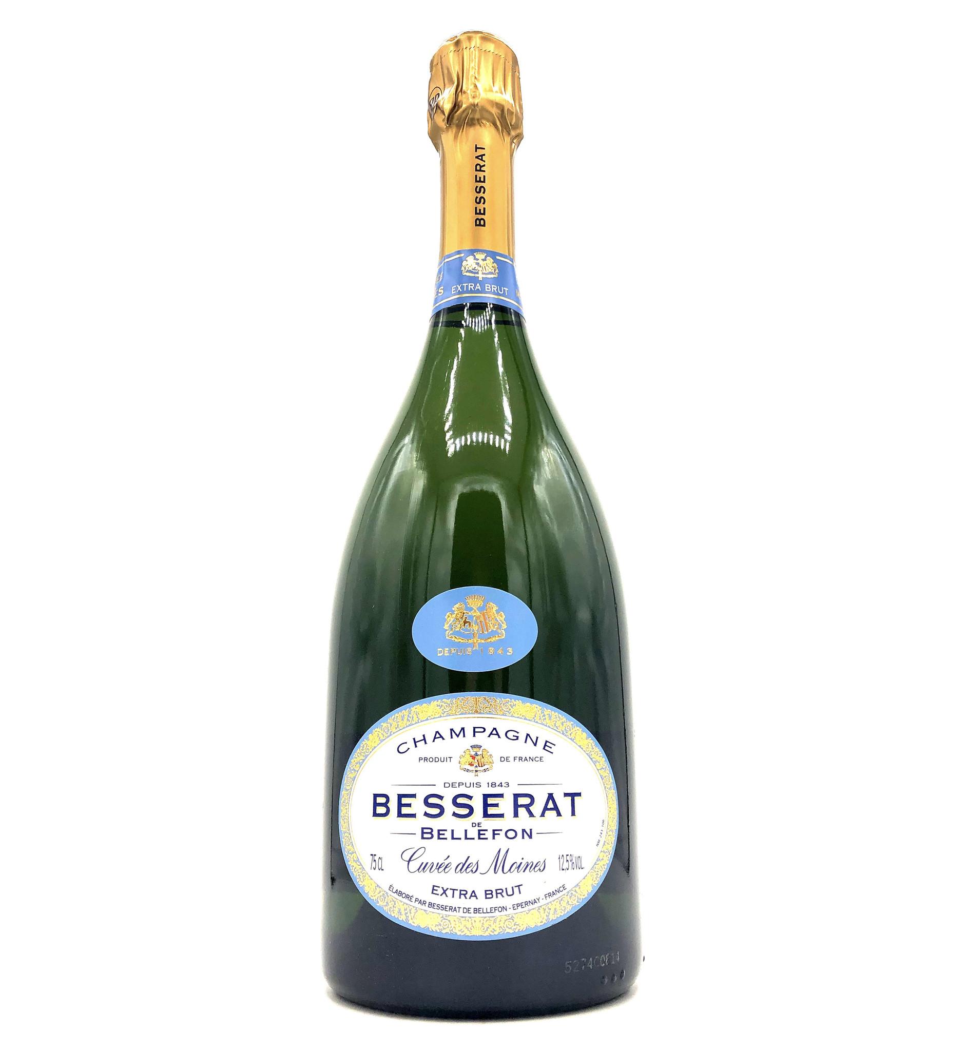 "Champagne Extra Brut NV ""Cuvée des Moines"" Besserat de Bellefon"