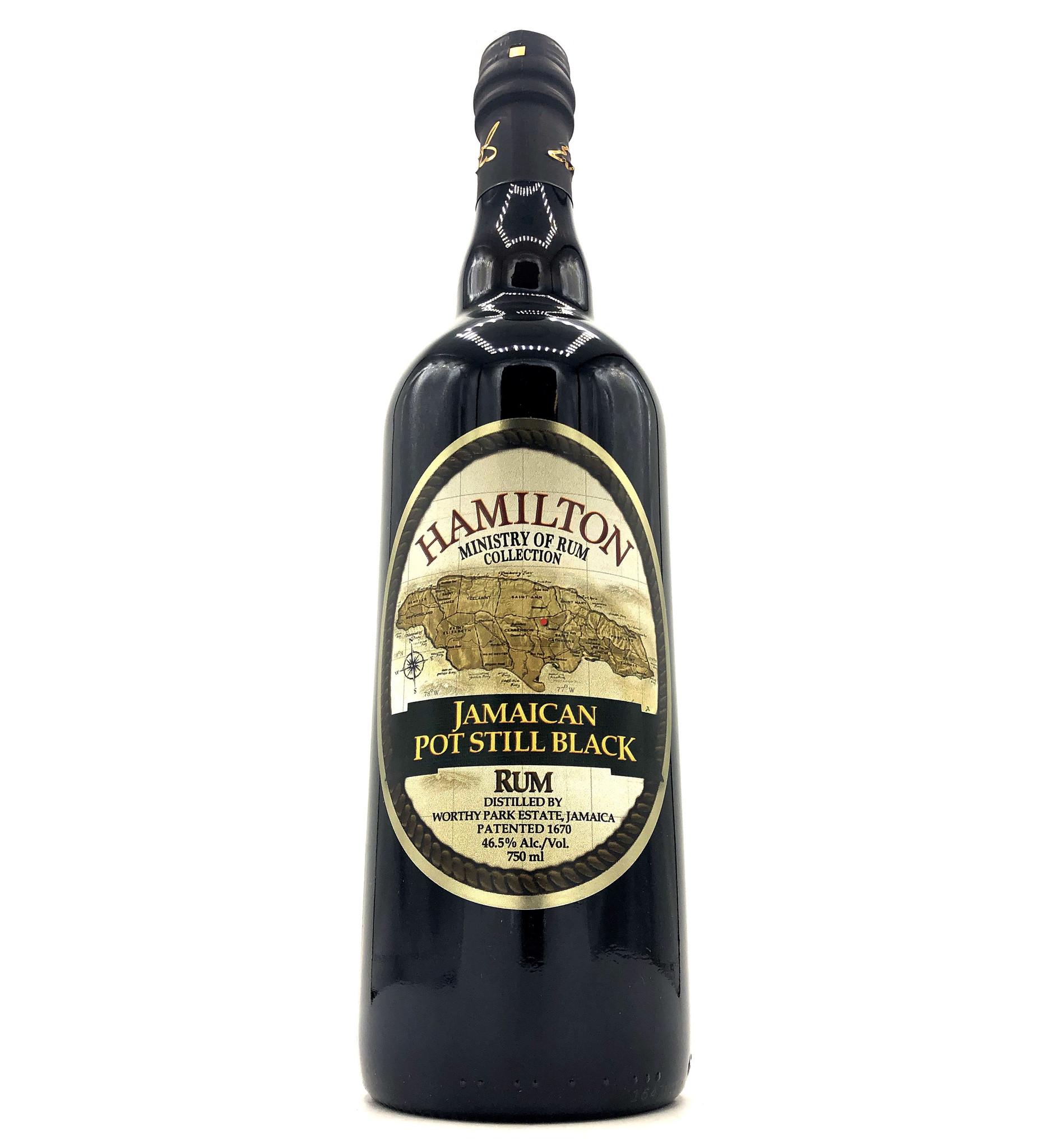 Jamaican Black Rum 750mL Hamilton