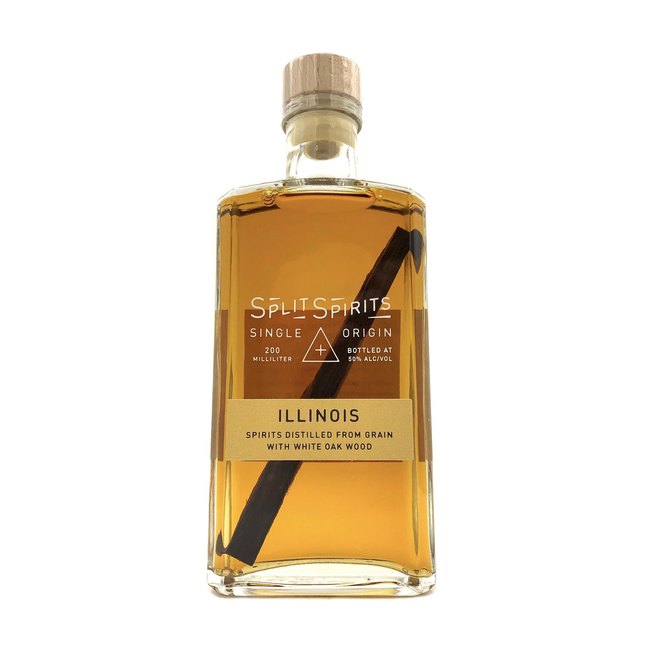 Split Spirits Illinois White Oak Whiskey 200ml