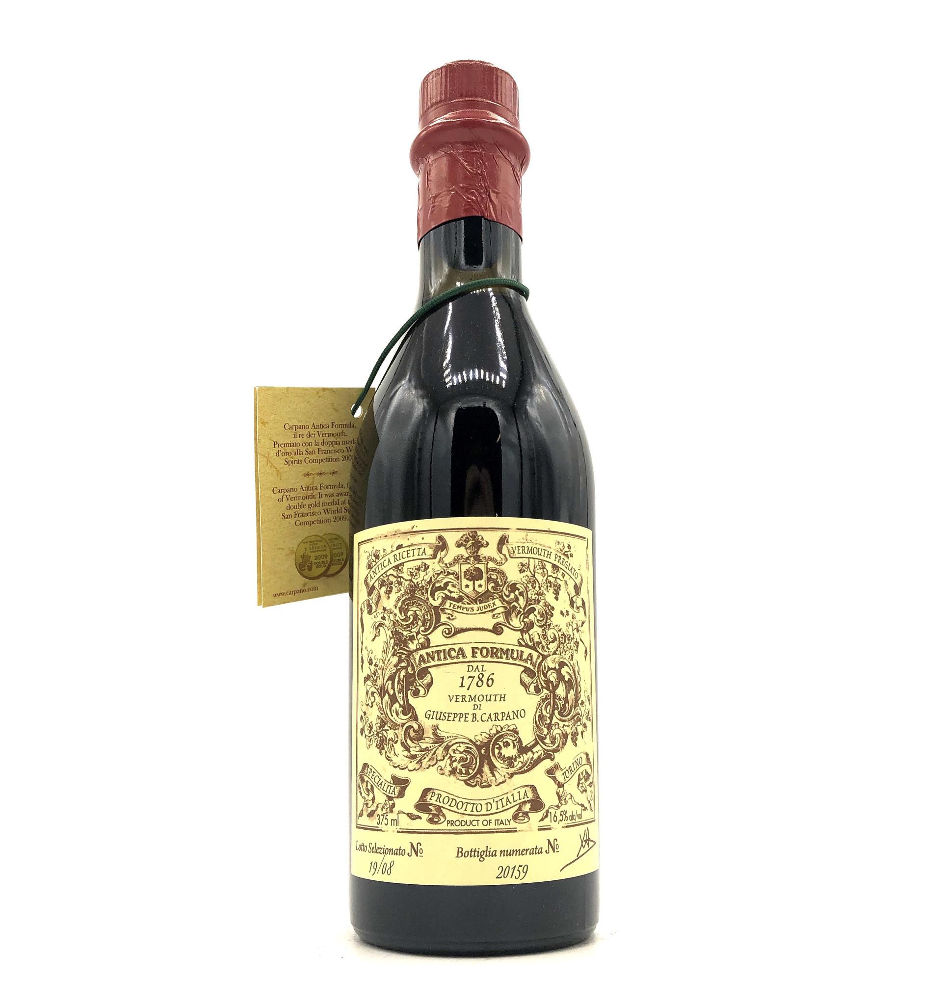 Vermouth Antica Formula 375mL Carpano