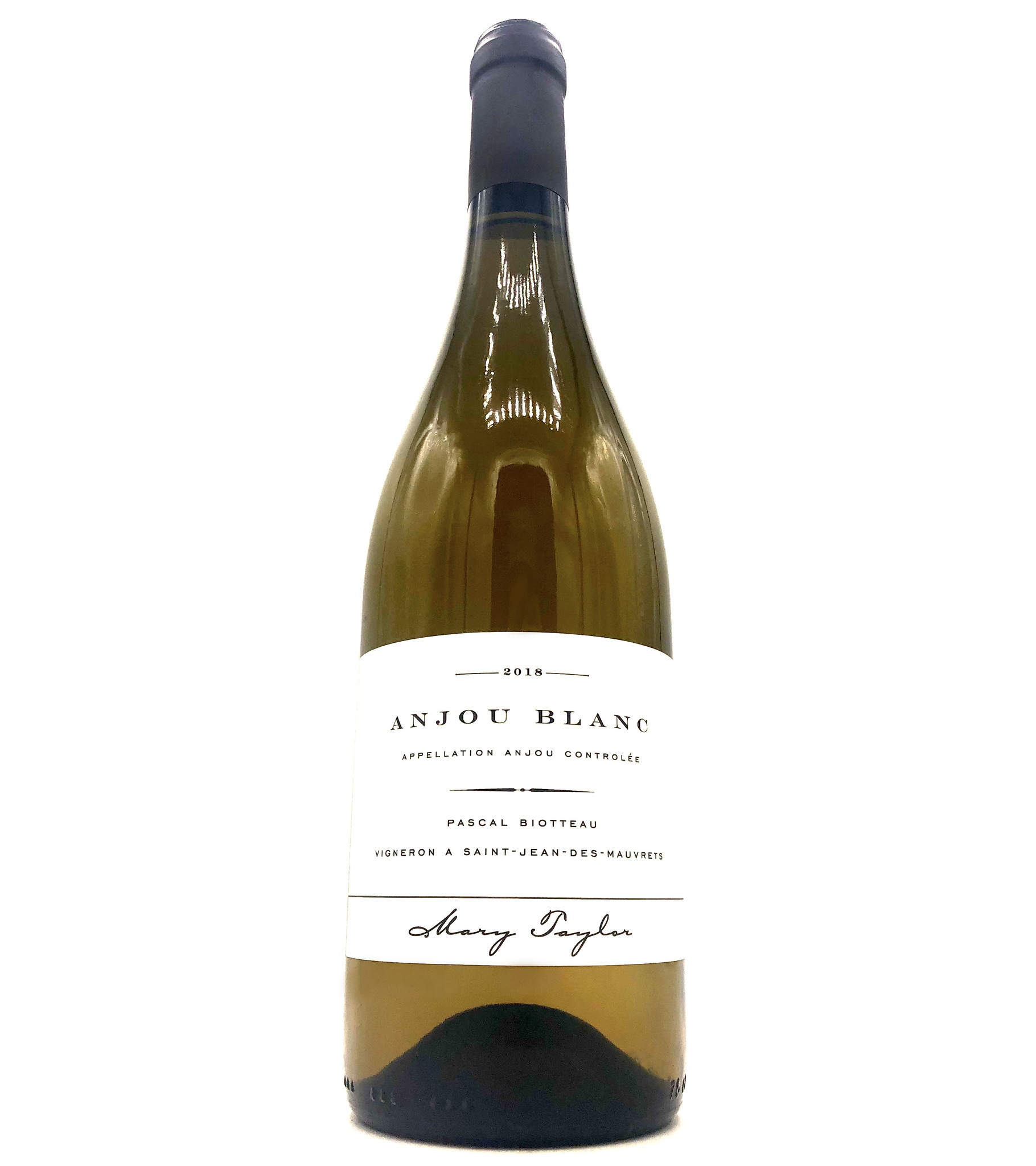 Anjou Blanc 2018 Mary Taylor/Pascal Biotteau