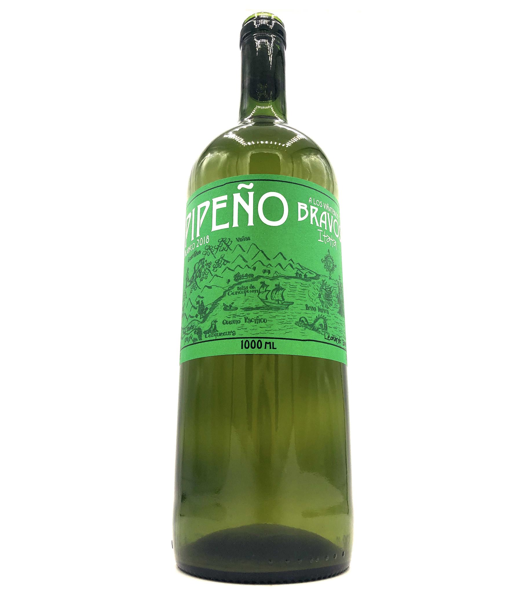 Pipeno Blanco 1L 2018 A Los Vinateros Bravos