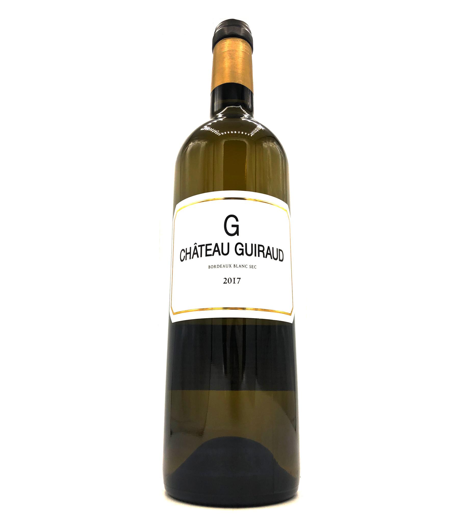 Bordeaux Blanc G de Guiraud 2017 Chateau Guiraud